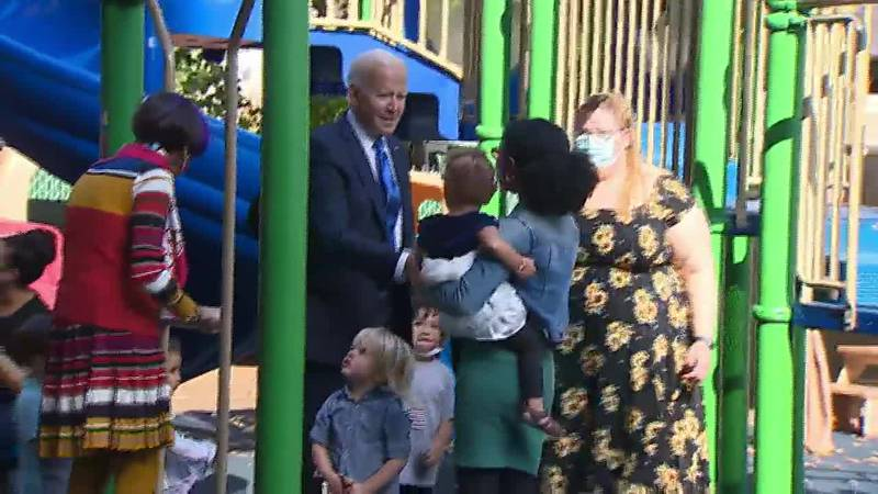 President Joe Biden said he plans to spend his weekend negotiating on the social safety net...