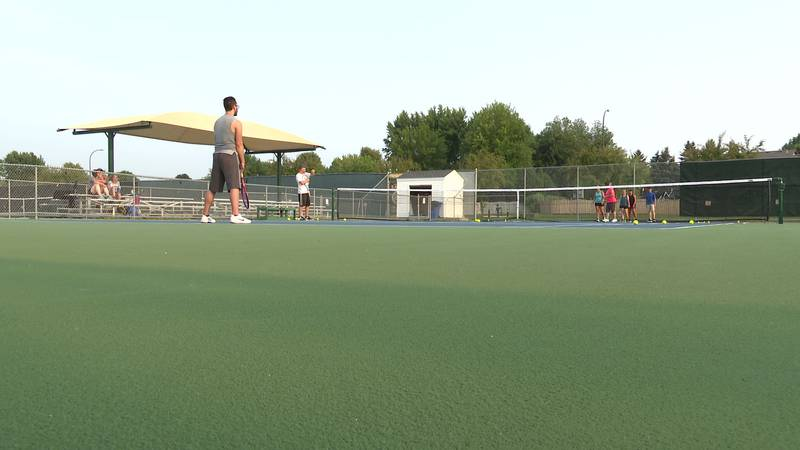 The Riverbend Tennis Classic is coming up this weekend.