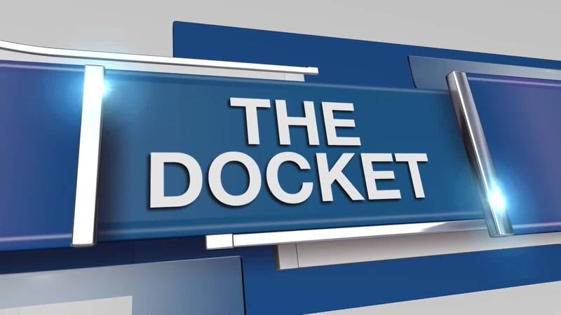 The Docket is your political forecast that takes a look ahead at what's happening in politics...