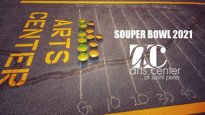 The Arts Center of Saint Peter will be hosting its annual Souper Bowl event Feb. 6-7, 2021, in...