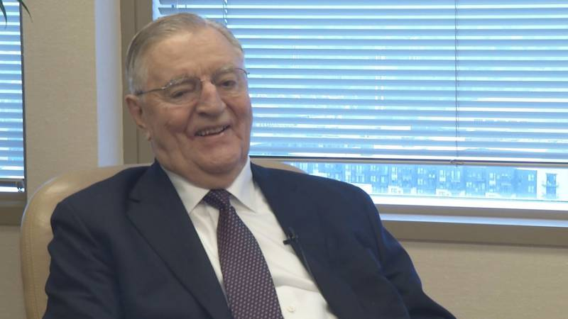 Former Vice President Walter Mondale from an interview in May 2016 with KEYC