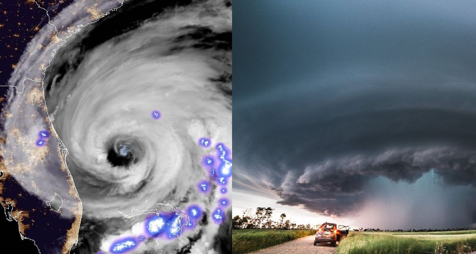 Ever wonder the difference is between hurricanes and supercells, besides there size? Also why...