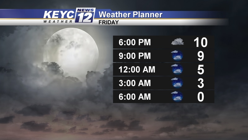Tonight is the first full moon of the decade. Cloud cover could limit your chance of seeing its...