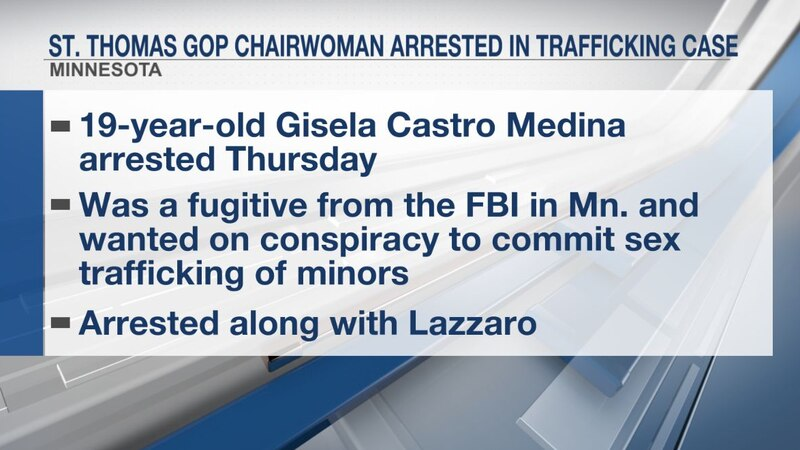 St. Thomas GOP chairwoman arrested in trafficking case