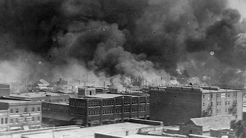 As many as 300 people were killed, 35 city blocks destroyed and 10,000 Black people left...