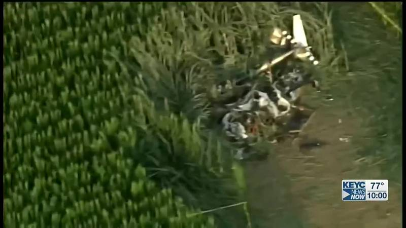 The National Transportation Safety Board says it's investigating a helicopter crash northeast...
