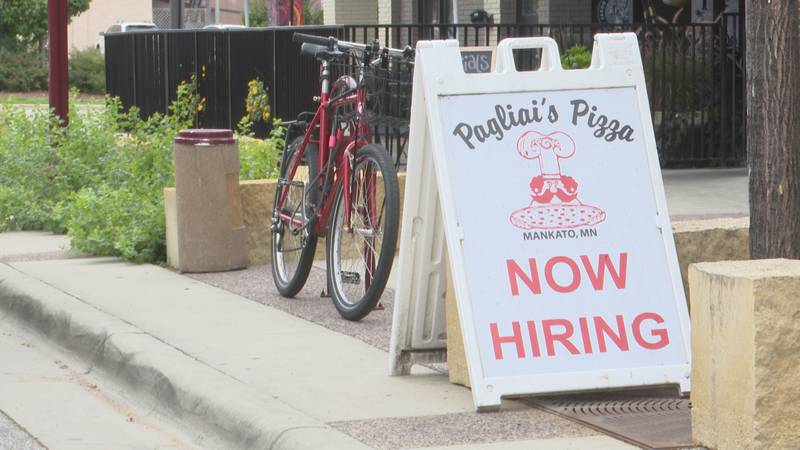 Pagliai's Pizza is one of several small businesses in Mankato feeling the effects of the labor...