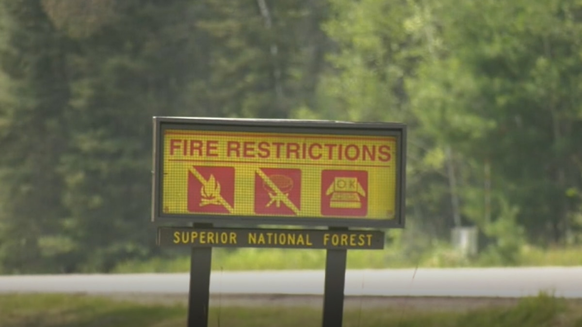Boundary Waters wilderness in Minnesota closed due to fire