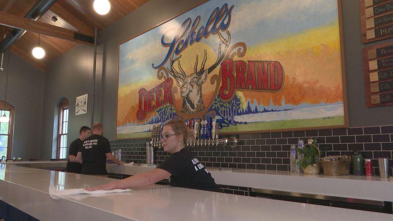 Schell's opens new tap room