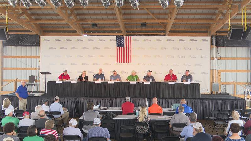 Farmfest day one kicks off with discussion on agriculture policy