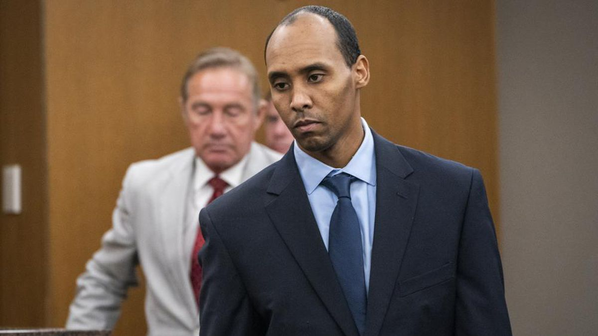 FILE — In this Friday, June 7, 2019, file photo, former Minneapolis police officer Mohamed Noor...