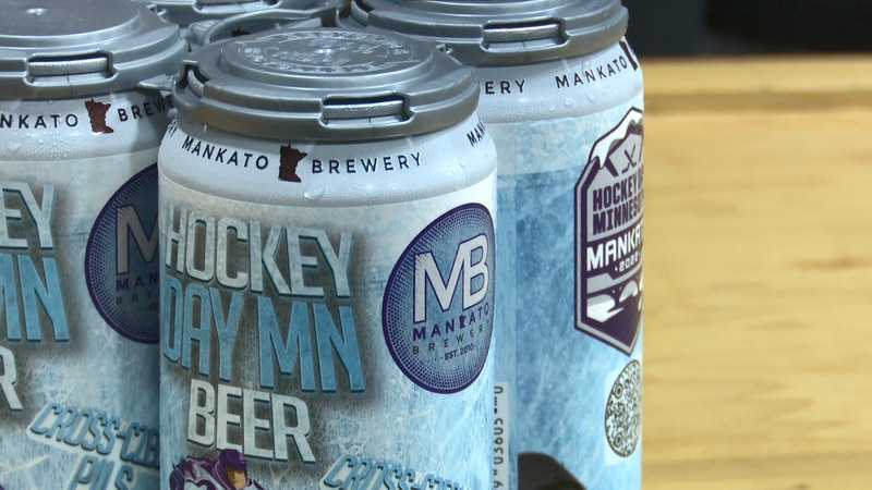 The Mankato Brewery will debut a new beer this week for Hockey Day Minnesota.
