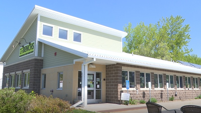 The Blue Earth Nicollet County Humane Society building is pictured Wednesday, May 12, 2021, in...