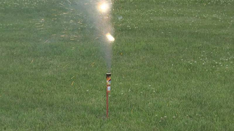 Authorities remind public to be responsible when using fireworks.