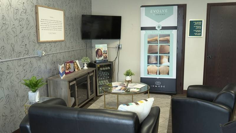 Mankato Med & Skin Clinic's office is pictured Wednesday, Aug. 18, 2021, in Mankato, Minn.