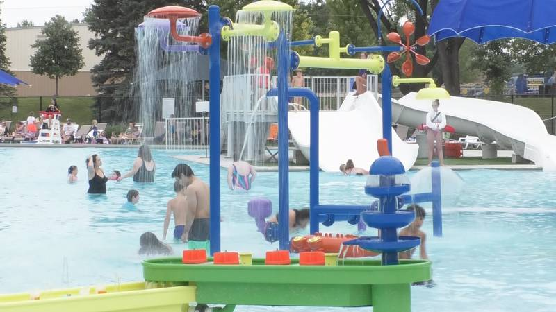 The Spring Lake Park Pool closes for the summer