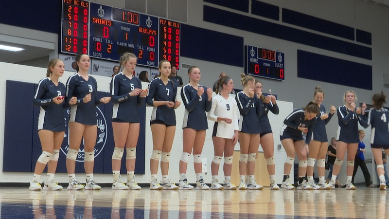 The Saints took down Waseca 3-1, Thursday night.