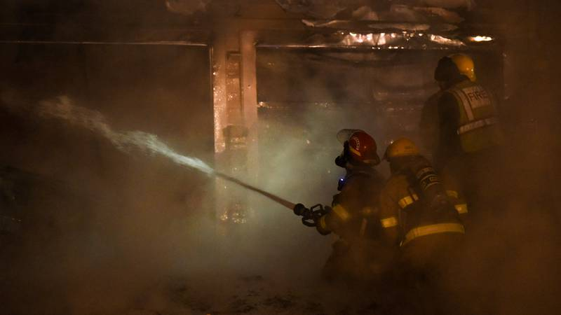Early Sunday morning, emergency crews arrived at a local residence to find a fire coming...