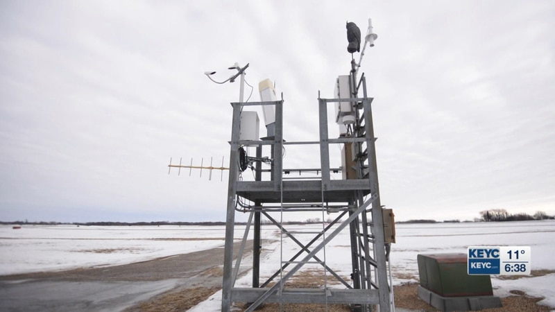 Automated Weather Observing Systems (AWOS) and Automated Surface Observing System (ASOS) are...