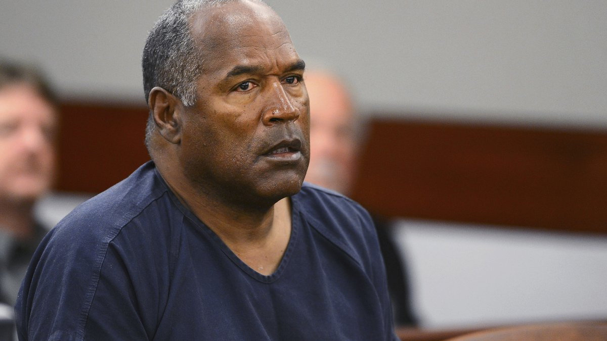 FILE - In this May 14, 2013, file photo, O.J. Simpson appears at an evidentiary hearing in...
