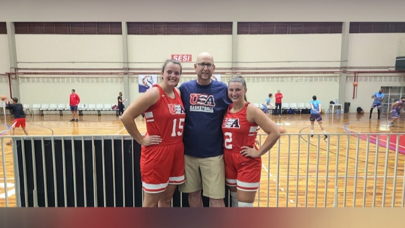 The Bethany Lutheran women's basketball trio travels to Brazil with Team USA Select Team.