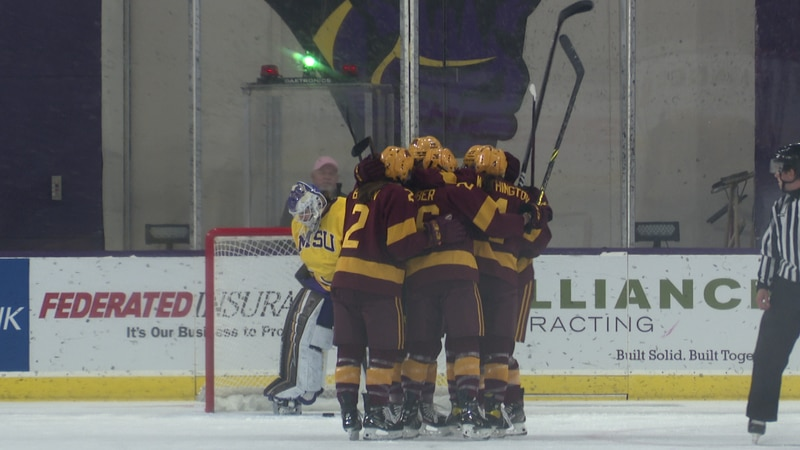 The No. 5/6 Gophers outscored the Mavericks 9-2 in their home-and-home series.