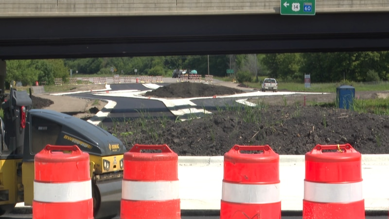 They are adding two roundabouts on Riverfront Drive and are ahead of schedule