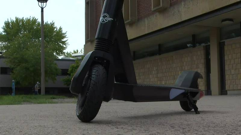 Electric scooters take over Minnesota State Mankato campus