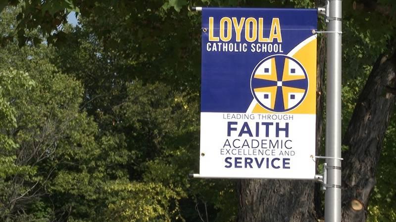 Loyola Catholic School changes it's masking policy for grades K-8.