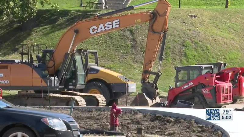 Warren Street construction expected to be finished by the end of October