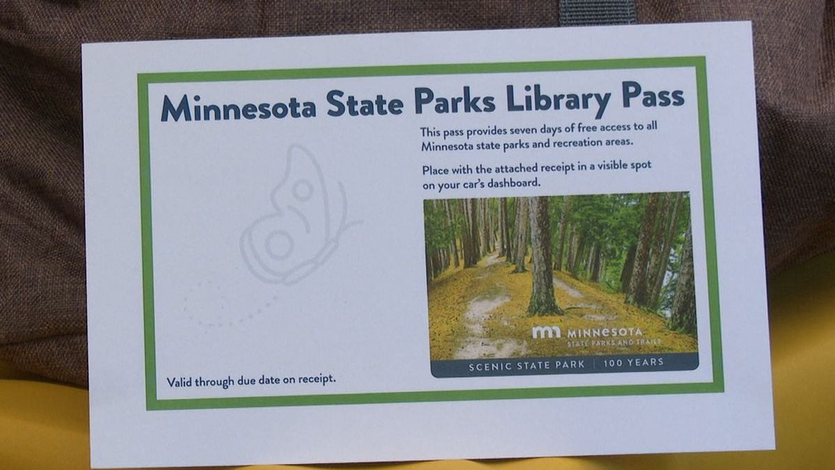 Minnesota State Parks Library Pass