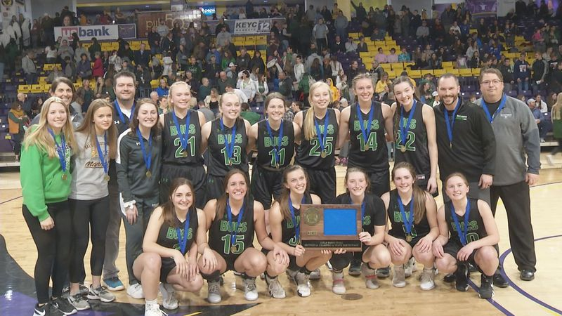 Waterville-Elysian-Morristown took on Sleepy Eye Saint Mary's in the Section 2A championship...
