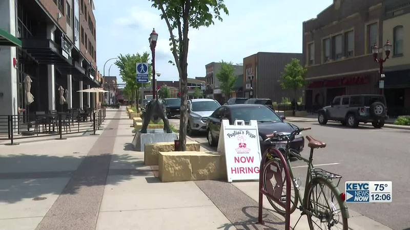 Mankato Public Safety says one person has been charged with assault after a fight that broke...