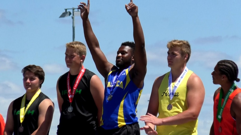Senior Marcus Hansen of the Waseca Bluejays was named Minnesota's Mr. Track and Field following...