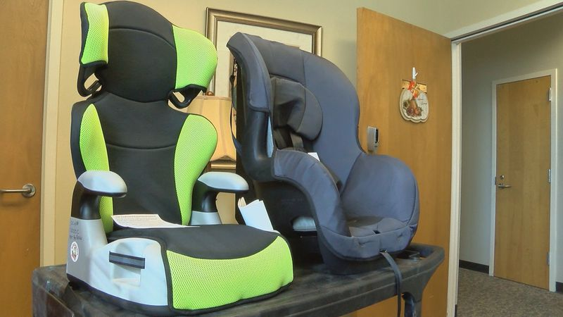You can learn how to put car seats in correctly and get a free car seat.