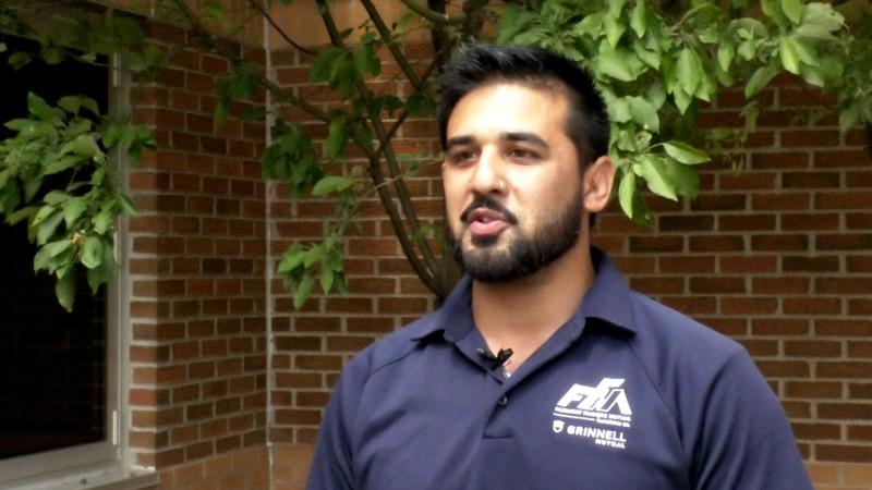 Giovanni Alvarado is interviewed Thursday, June 24, 2021, in St. Clair, Minn. Alvarado was...