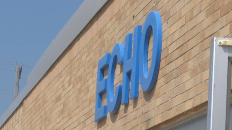 The Echo Food Shelf building is pictured Wednesday, July 7, 2021, in Mankato, Minn.