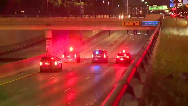 A two-year-old is dead as a nine-year-old fights for their life following two separate freeway...