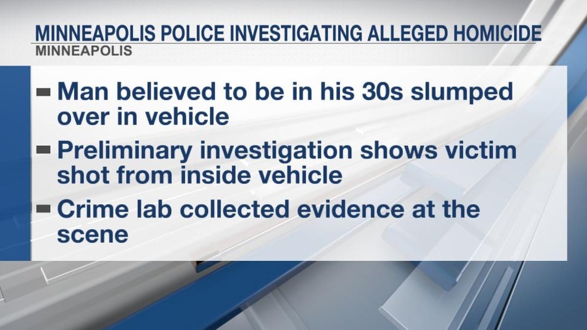 Minneapolis police investigating alleged homicide