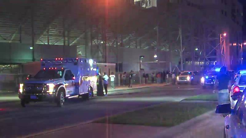 Four people, two of them juveniles, were shot outside a high school football stadium in Mobile,...