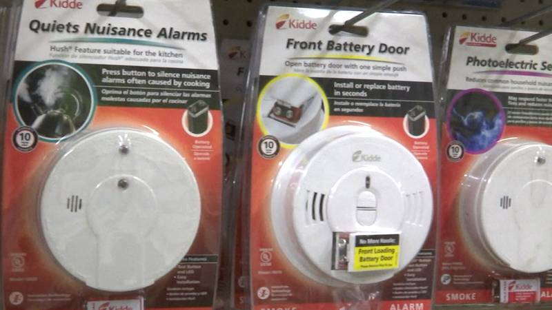 Officials remind the public to replace smoke alarms every 10 years.