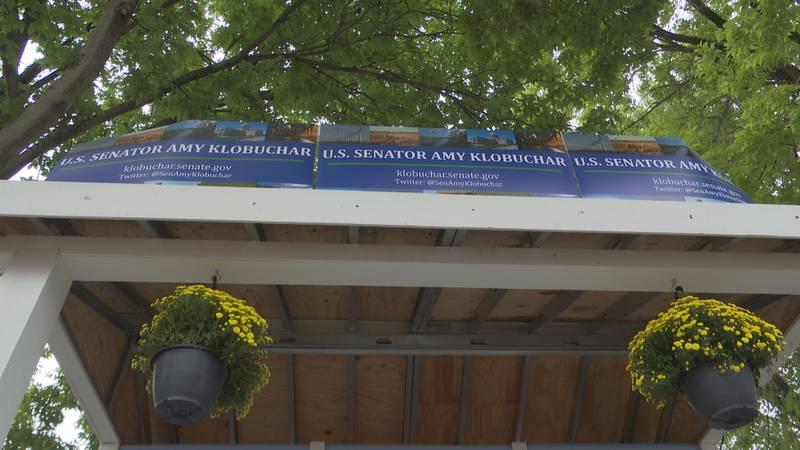 Sen. Klobuchar highlights infrastructure at state fair booth