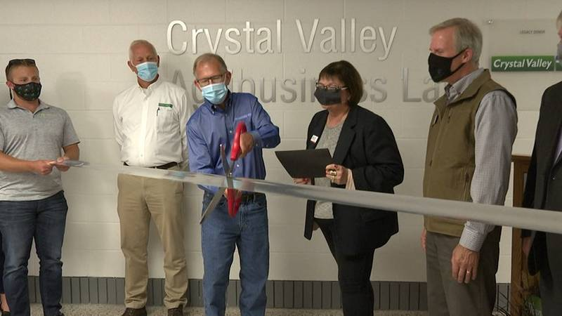 South Central College (SCC) in North Mankato held a ribbon-cutting ceremony to celebrate the...