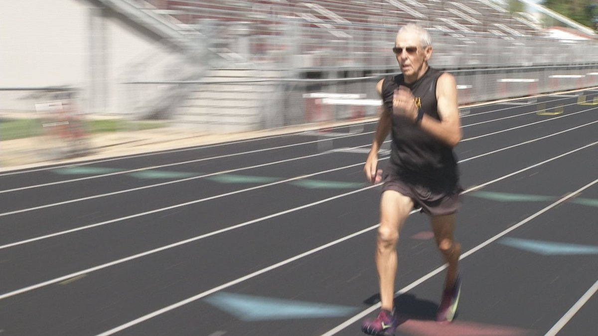 Sherwood Sagedahl is one of the best 80-84 year old track and field athletes in the nation.