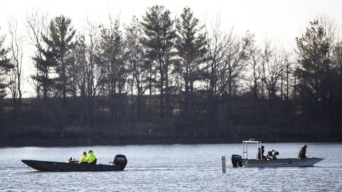Law enforcement resume the search for a missing Iowa State University Crew Club member on...