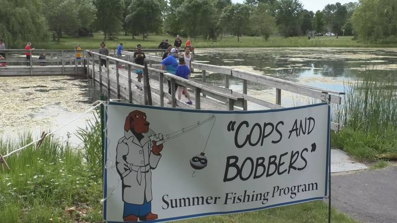 FILE — Cops and Bobbers, a weekly youth summer fishing program, is returning this summer.