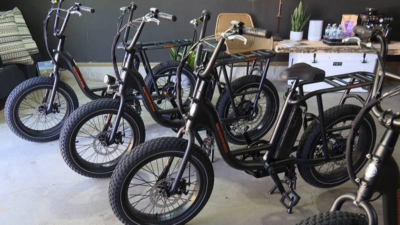 """Fun Bike Rides"" offers e-bike rentals in Mankato."
