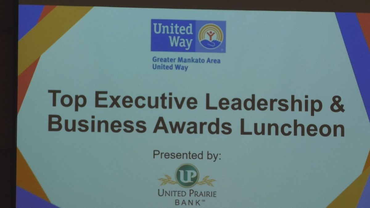 More than 300 business executives attended this year's luncheon.