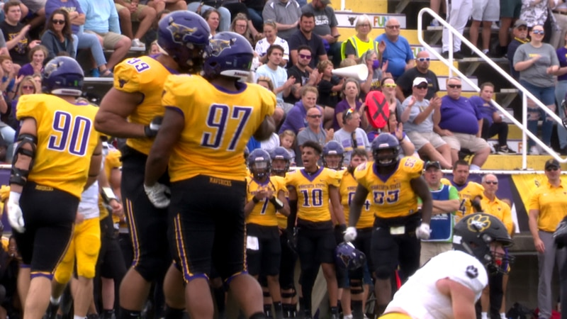 The No. 11 Maverick football squad couldn't overcome the Wayne State offense in a 35-24 loss.